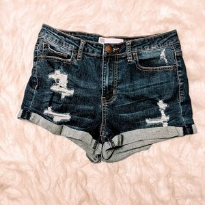 RSQ Jeans Sunset High Rise Shorts Sz 9